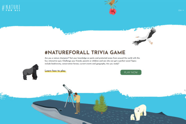 #NatureForAll Online Trivia Game