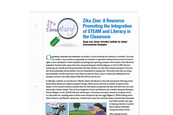 Zika Zine: Integration of STEAM and Literacy in the Classroom